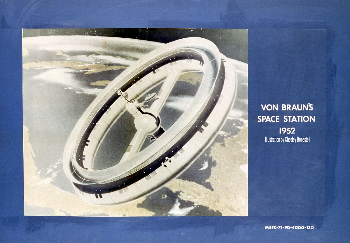 Rotating Wheel Space Station Wikipedia Revo X Cosmic White Jepara
