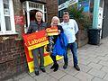 Vote Labour campaigners 8 June 2017 New Barnet 02.jpg