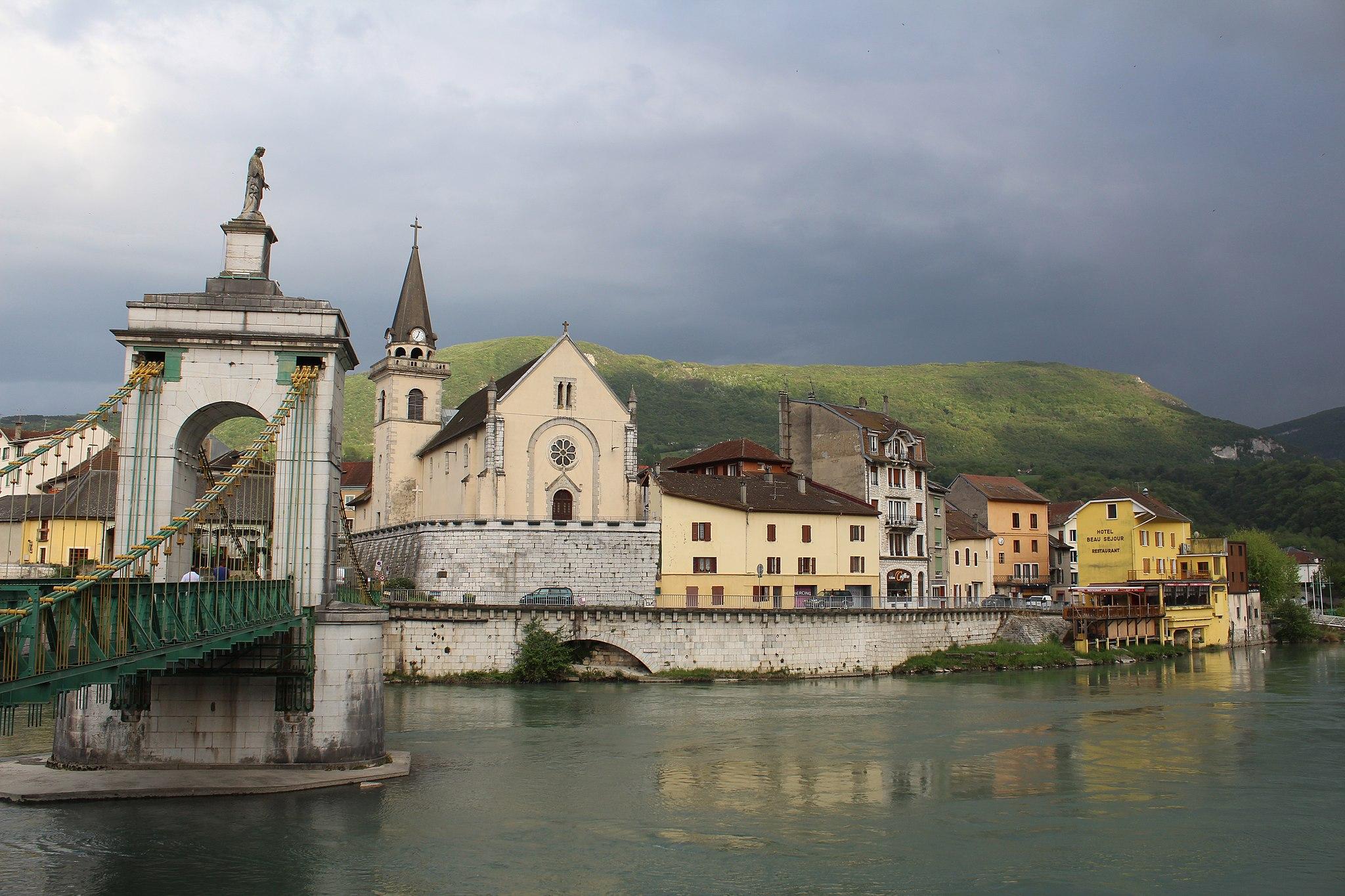 Vue Seyssel Haute Savoie 2