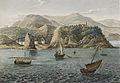 Vue de Notre Dame De Bon Voyage (Rio de Janeiro) by Jacques Etienne Victor Arago 1790-1850.jpg