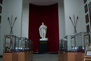 Vytautas the Great War Museum - Vytautas statue in the Vytautas the Great War Museum