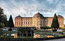 Würzburg Residence and court garden