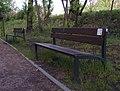 Włocławek-benches with QR Code in Park on the Pump.jpg
