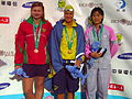 WDSC2007 Day2 Awards Women100Backstroke Winners.jpg