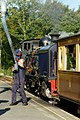 WHR NG87 taking on Water at Beddgelert.jpg