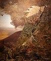 WLA brooklynmuseum Jervis McEntee-A Cliff in the Katskills.jpg