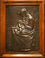 WLA cma Young Woman Nursing Her Child bronze with brown patina.jpg