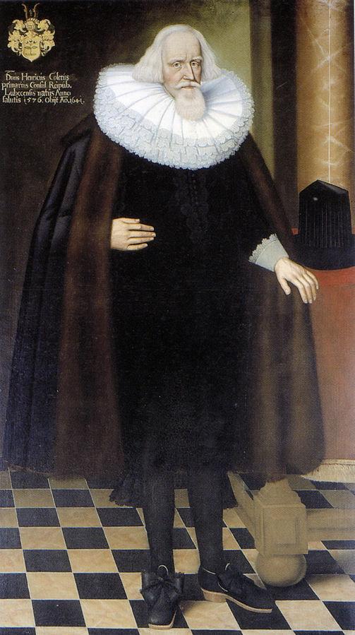 Portrait of Heinrich Köhler (1576-1641), Mayor of Lübeck