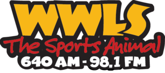 WWLS-FM - Former logo used between July 9, 2008 and April 2, 2012
