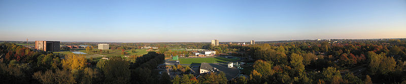 Wageningen University Campus Panorama.jpg