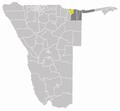 Wahlkreis Rundu Land in Kavango.png