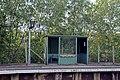 Waiting shelter, Hawarden Bridge railway station (geograph 4032518).jpg