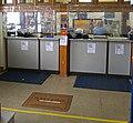 Walden, NY, post office lobby with COVID-19 precautions.jpg