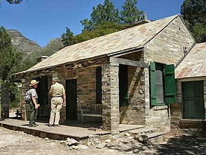 Guadalupe Mountains National Park - Wallace Pratt Lodge