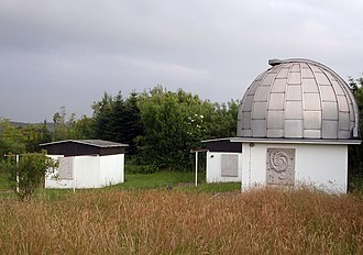 Public observatory - A public observatory near Essen, Germany that is also used for research