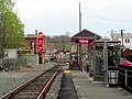 Waltham station facing west, April 2016.JPG