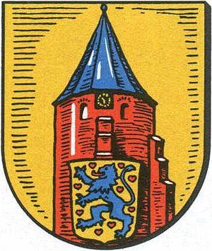 Salzhausen - Image: Wappen der Gemeinde Salzhausen
