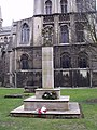 War Memorial, Peterborough Cathedral Close - geograph.org.uk - 1777428.jpg