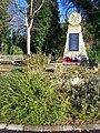 War Memorial and Bench, Detling - geograph.org.uk - 1077807.jpg