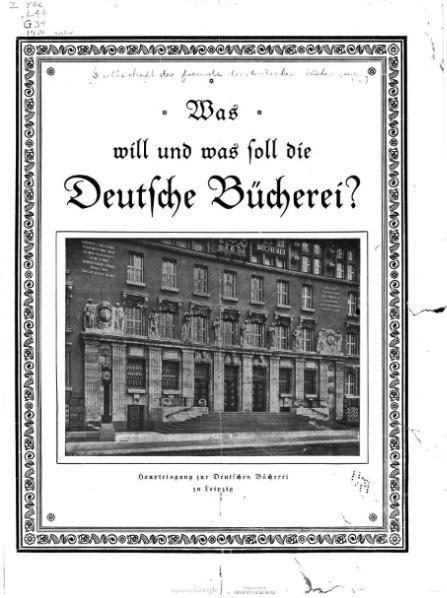 File:Was will und was soll die Deutsche Bücherei.djvu
