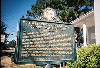Quincy Woman's Club - Image: Washingtonlodgequinc y 2
