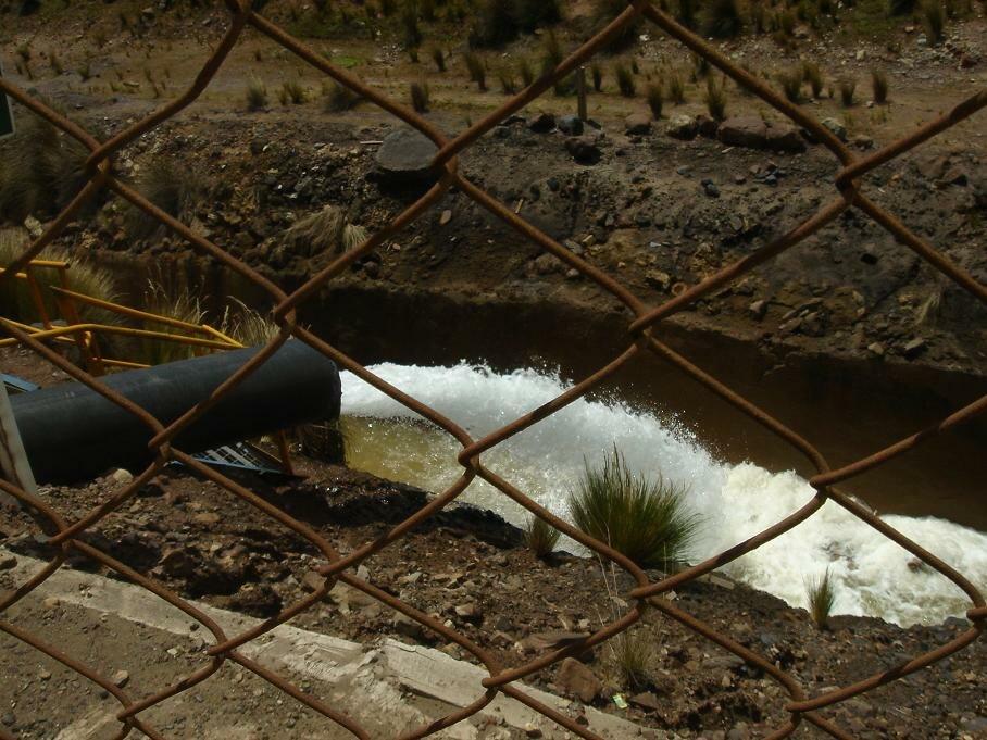 Wastewater effluent