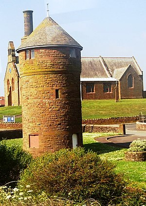 Listed buildings in Seascale - Image: Water Tower, Seascale geograph.org.uk 1348657