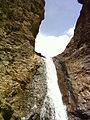 Waterfall in Yush road - panoramio.jpg
