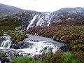 Waterfall on the Abhainn Thràil - geograph.org.uk - 16033.jpg