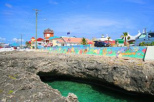 George Town, Cayman Islands - The Waterfront near Harbour House