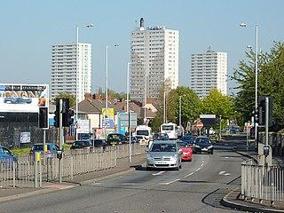 Heath Town Human settlement in England