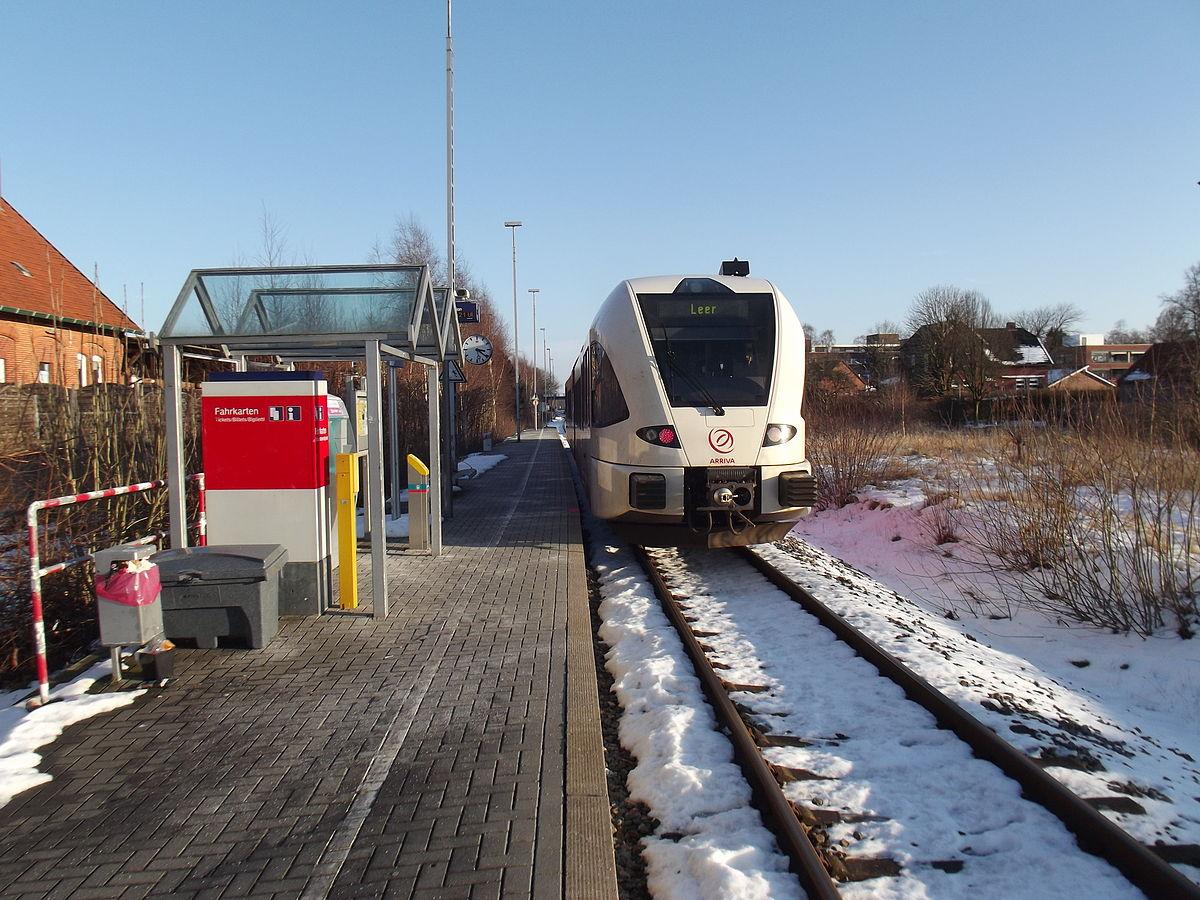 Station Weener Wikipedia