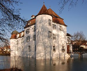 Bottmingen - Weiherschloss (Bottmingen Castle)