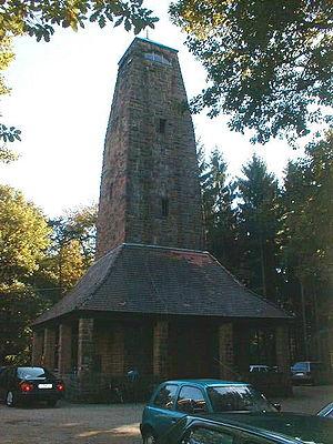 Weißer Stein - Lookout tower on Weißer Stein