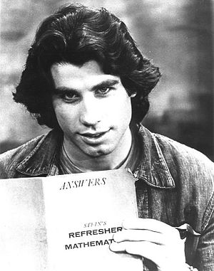 John Travolta - Travolta as Vinnie Barbarino in the ABC comedy Welcome Back Kotter, c. 1976