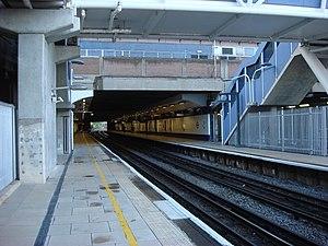 Wembley Central rail crash - Image: Wembley Central station 7