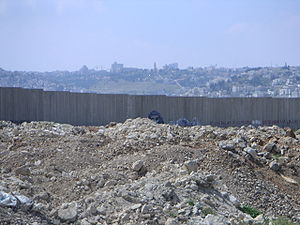 West Bank Barrier (Separating Wall)