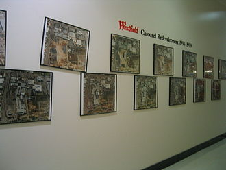 Westfield Carousel - Redevelopment gallery between 1998 and 1999, located outside of centre management