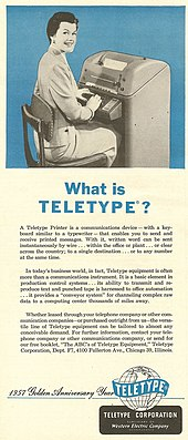 What is Teletype?