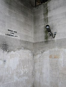 Image of a surveillance camera