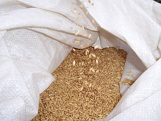 Adjuncts - A bag of wheat, often used as an adjunct