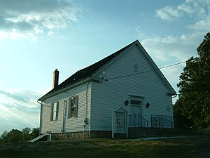 White Hall, Frederick County, Virginia - White Hall United Methodist Church