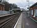 Whyteleafe South stn look north.JPG