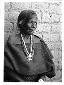 Wife of the great Navajo Chief Manuelito, the last chief of the Navajo, ca.1901 (CHS-3242).jpg