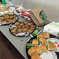 WikiDay 2015 - Food - Cookies Subs for Lunch.jpg