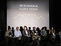 Wikimania 2018, marginalized communities session.jpg