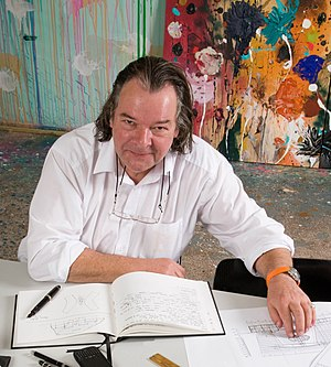 Will Alsop - Will Alsop in his Battersea office aLL Design
