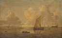 Willem van Diest - Seascape with a Town in the Background - KMS969 - Statens Museum for Kunst.jpg