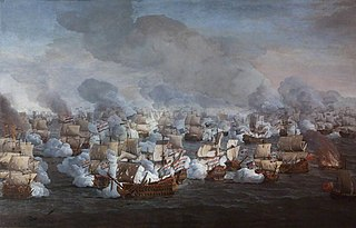 The Battle of the Texel (Kijkduin), 11/21 August 1673, the Engagement of the Two Fleets
