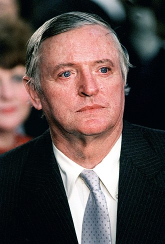 William F. Buckley Jr. - Buckley at the second inauguration of US President Ronald Reagan in 1985